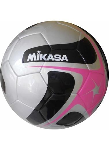Kaynaklı Futbol Topu Pembe-Gri-Mikasa